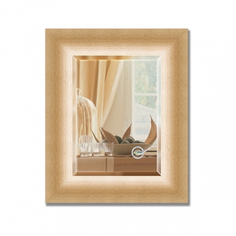 Зеркало в багетной раме с фацетом Evoform Exclusive 47х57см BY 1363