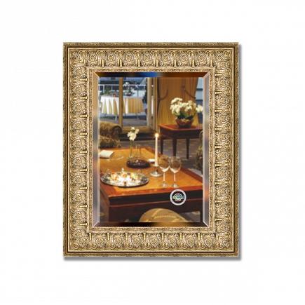 Зеркало в багетной раме с фацетом Evoform Exclusive 44х54см BY 1365