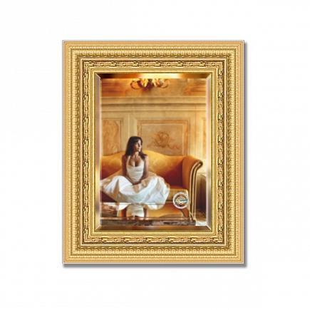Зеркало в багетной раме с фацетом Evoform Exclusive 45х55см BY 1366