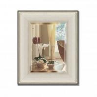 Зеркало в багетной раме с фацетом Evoform Exclusive 48х58см
