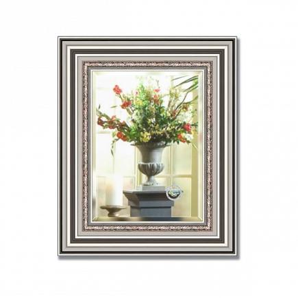 Зеркало в багетной раме с фацетом Evoform Exclusive 46х56см BY 1369