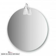 Зеркало со светильником Ellux Classic 65x65см