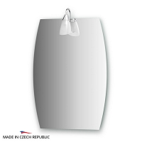 Зеркало со светильником Ellux Classic 50х70см