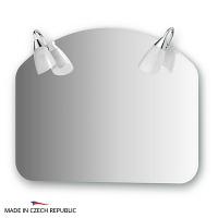 Зеркало со светильниками Ellux Classic 70х55см