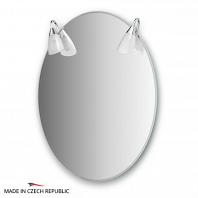 Зеркало со светильниками Ellux Classic 60х80см