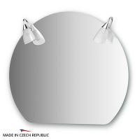 Зеркало со светильниками Ellux Classic 80х70см