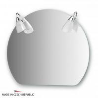 Зеркало со светильниками Ellux Classic 70х60см