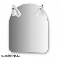 Зеркало со светильниками Ellux Classic 60х70см