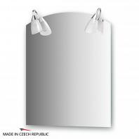 Зеркало со светильниками Ellux Classic 60х75см