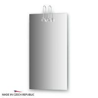Зеркало со светильниками Ellux Cristal 40х75см