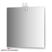 Зеркало со светильниками Ellux Cristal 75х75см