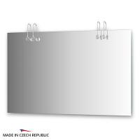 Зеркало со светильниками Ellux Cristal 120х75см