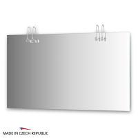 Зеркало со светильниками Ellux Cristal 130х75см