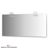 Зеркало со светильниками Ellux Cristal 160х75см