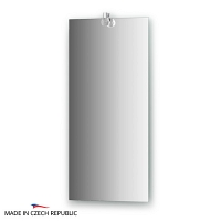 Зеркало со светильником Ellux Cristal 35х75см