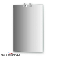 Зеркало со светильниками Ellux Cristal 50х75см