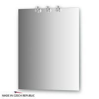 Зеркало со светильниками Ellux Cristal 60х75см