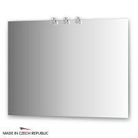 Зеркало со светильниками Ellux Cristal 100х75см