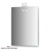 Зеркало со светильниками Ellux Cristal 55х75см