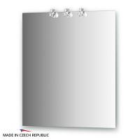 Зеркало со светильниками Ellux Cristal 65х75см