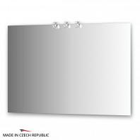 Зеркало со светильниками Ellux Cristal 110х75см