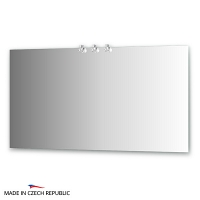 Зеркало со светильниками Ellux Cristal 140х75см