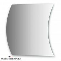 Зеркало с частичным фацетом FBS Practica 80х80см