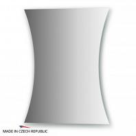 Зеркало с частичным фацетом FBS Practica 40х50см