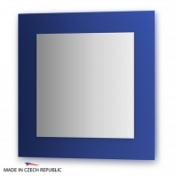 Зеркало на цветном основании FBS Colora 70х70см