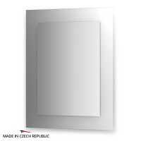 Зеркало на цветном основании FBS Colora 70х90см
