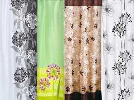 Carnation Home Fashions Shower Curtains