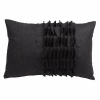 Подушка с объемным узором Giselle Dark Gray DG Home Pillows