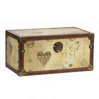 Декоративный сундук Provence Beige DG Home Decor Cava Décor 2