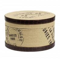 Круглая коробка для хранения Coterie Piccola DG Home Decor
