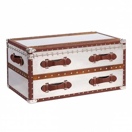 Декоративный чемодан-тумба для хранения Pop Miracle DG Home Decor DG-D-638B