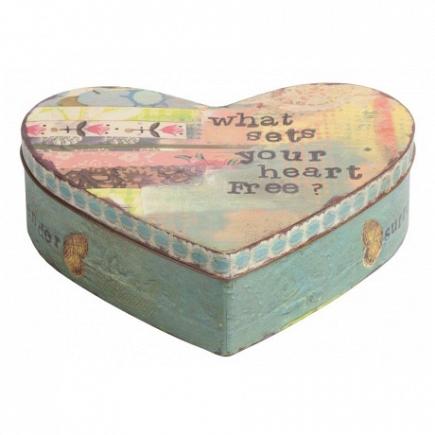 Декоративная коробка Heart DG Home Decor DG-D-697A