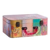 Декоративный чемодан с акриловыми ручками Arcobaleno Grande DG Home Decor