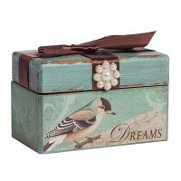Декоративная коробка с бархатной лентой Tiffany DG Home Decor