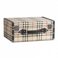 Декоративный чемодан Estilo Burberry Piccolo DG Home Decor