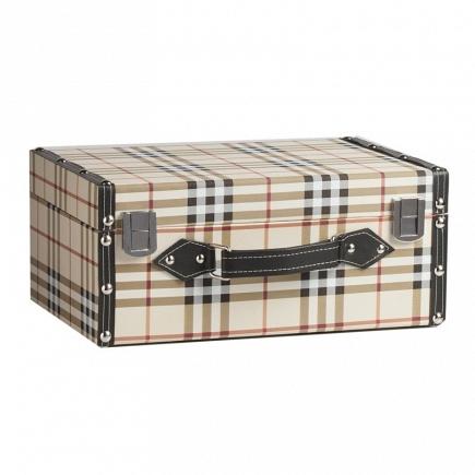 Декоративный чемодан Estilo Burberry Piccolo DG Home Decor DG-D-829B