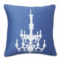 Подушка с принтом Chandelier Diamond-Blue DG Home Pillows