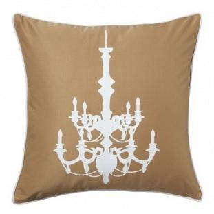 Подушка с принтом Chandelier Mustard DG Home Pillows DG-D-PL03MS