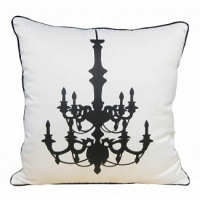 Подушка с принтом Chandelier White DG Home Pillows