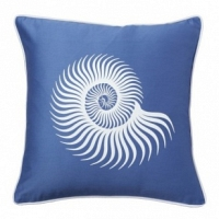 Подушка с принтом Sea Shell Diamond-Blue DG Home Pillows