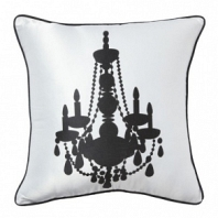 Подушка с принтом Chandelier II White DG Home Pillows