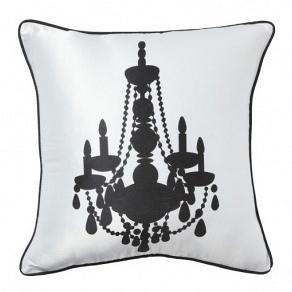 Подушка с принтом Chandelier II White DG Home Pillows DG-D-PL14WW