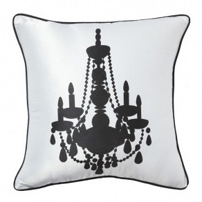 Подушка с принтом Chandelier II White DG Home Pillows DG-D-PL14WW