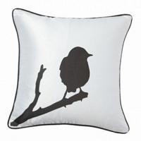 Подушка с принтом Lone Bird White DG Home Pillows
