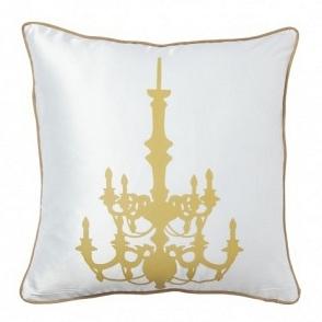 Подушка с принтом Chandelier White DG Home Pillows DG-D-PL18W