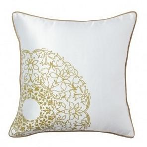 Подушка с принтом Flower Weaving White DG Home Pillows DG-D-PL19W
